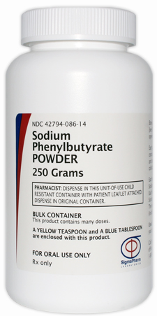 Sodium Phenylbutyrate Powder (250 grams)